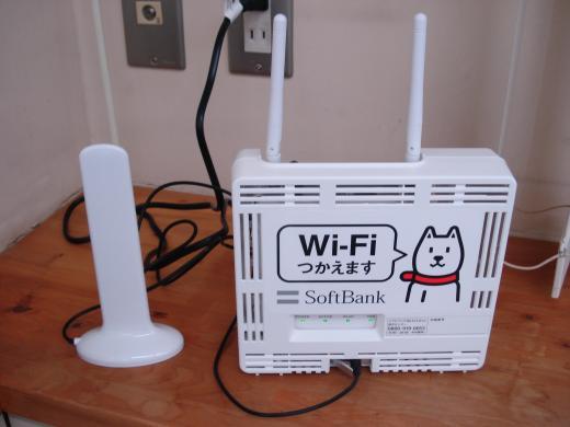 ソフトバンクのWi‐Fiが復活しました\(^O^)/