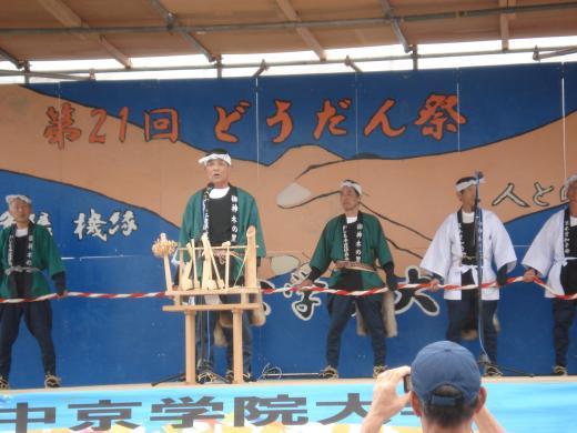 六斎市in加子母産業祭がおこなわれました